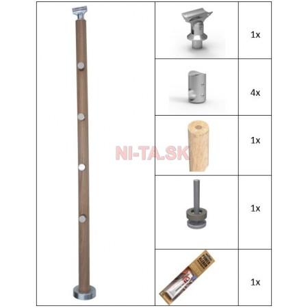 Dubový guľatý stĺpik NI-TA