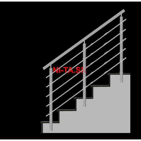 Nerezové zábradlie HN5SB-2 1000x1000 BS NI-TA