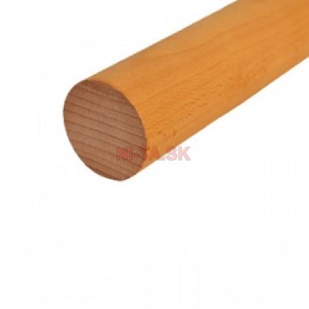Drevené madlo D49xL3000 BUK NI-TA